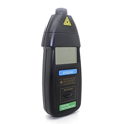Generic DT2234C+ Digital Laser RPM Tachometer Non Contact Measurement Tool <span at amazon