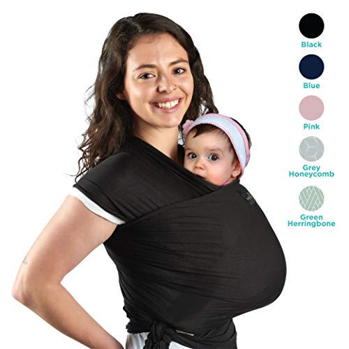 Lightweight, Natural  Breathable My Honey Wrap Baby Carrier Sling - for Infants  Babies - 4 Color Options