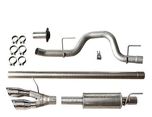 Roush 421711 F-150 Cat-Back Exhaust for 6.2L / 5.0L / 3.5L (2011-2014) Side Exit ()