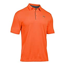 Under Armour Men's Tech Polo, Magma Orange (889)graphite, Large