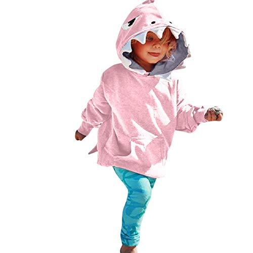 Yamally_9R_Unisex Rompers Baby Dinosaur Hooded Jumpsuit Newborn Baby Boys Girls Cartoon Dinosaur Hoodie Romper (12-18 Months, Pink #11)