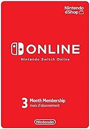 Nintendo Switch Online Individual Membership 3 Months - Switch [Digital Code]