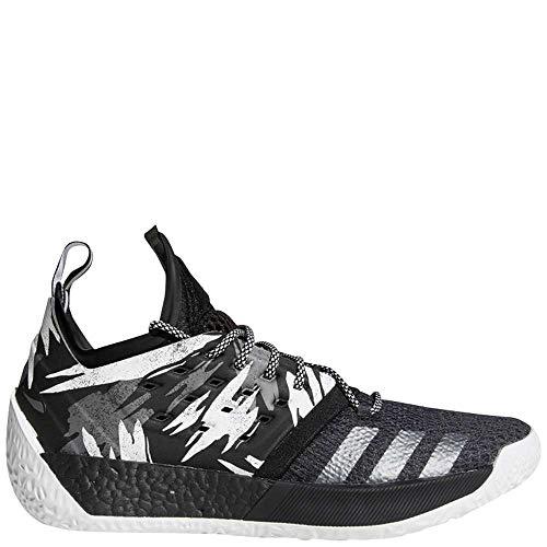 adidas Men's Harden Vol. 2 Basketball Shoes (11, Core Black/Grey/Iron - Men Shoes Basketball Kobe