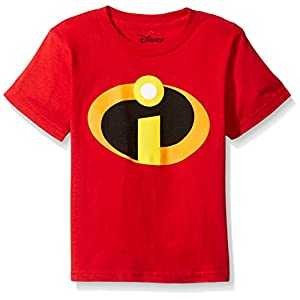 Disney Little Boys' the Incredibles Logo Costume T-Shirt