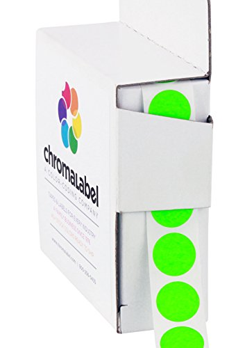 ChromaLabel 1/2 Inch Round Color Coding Labels | 1,000/Box for sale  Delivered anywhere in USA