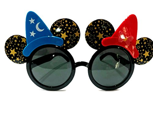 Fancy Glasses Mickey Minnie Mouse Ears Sunglasses Costume Ornaments Party Decoration (Mickey Star) -
