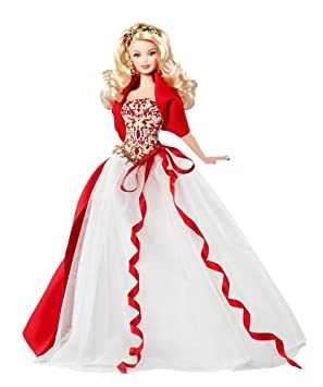 Barbie De Noel Buy Barbie Collector 2010 Holiday Doll Online at Low Prices in