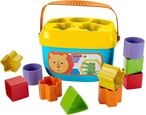 Fisher-Price Baby's First Blocks (Fine Motor Skill Toys For 1 Year Old)