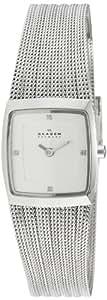 Skagen Steel 380XSSS1 - Reloj de mujer de cuarzo, correa de acero inoxidable color plata