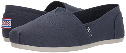 Skechers BOBS from Women's Bobs Plush-Peace and Love Ballet Flat, Dark Navy, 7.5 M US by Skechers (Image #5)