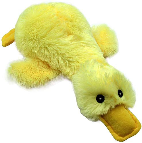 Mihachi Plush Squeaky Dog Toys-Pet Toy Duck,for Medium and Large Dogs