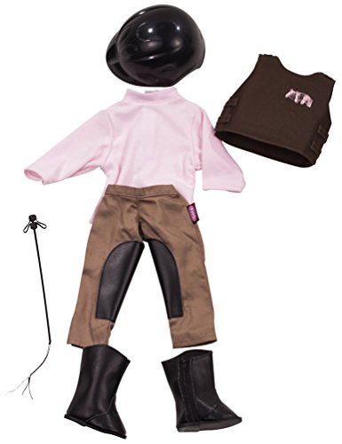 Gotz Horseback Riding Outfit & Accessories for 18