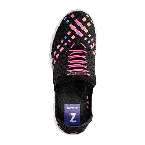 Zee Alexis Donne Danielle Sneaker Black / Neon Multi