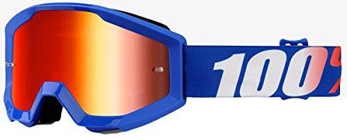 100% Youth Strata Jr Goggle + Mirror Lens-Nation