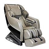Infinity Riage X3 - Full Body Zero Gravity 3D Massage Chair - Body Scanning, Compression, Lumbar Heat, and Shiatsu Technique - Taupe