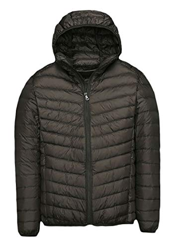 Down Light Weight Size Solid AS12 Energy Jacket Men's Full Zip Ultra Plus 7XzqI