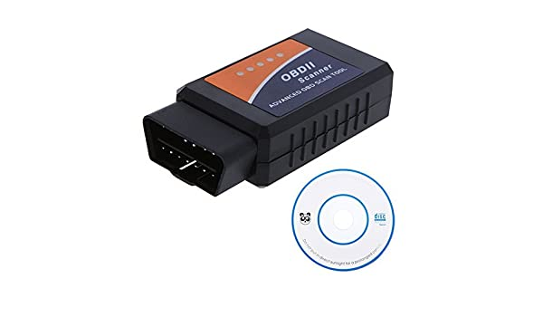 Amazon.com: WONFAST(TM) Diagnostic Tool ELM327 OBD2 OBD-II ELM 327 V1.5 Bluetooth Car Diagnostic Interface Scanner Works On Android: Automotive