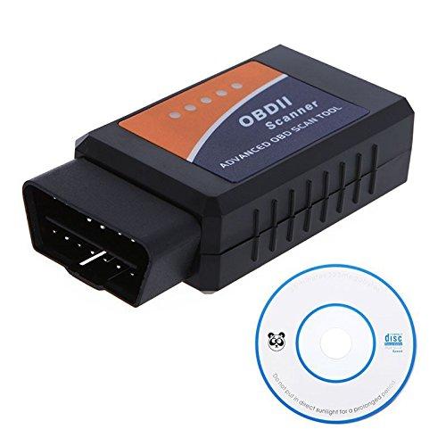WONFAST(TM) Diagnostic Tool ELM327 OBD2 OBD-II ELM 327 V1.5 Bluetooth Car Diagnostic Interface Scanner Works On Android