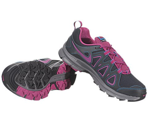 Nike Women's Air Alvord 10 Anthrct/Frbrry/Bl Glw/Cl Gry Training Shoe 6 Women US