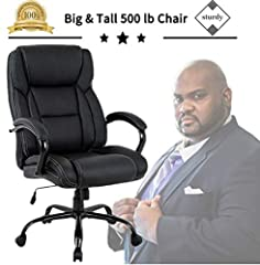 This Office Chairs USA endorsed chair is a wonderful chair for your suite or work-space. Black Leather Plus seat and back. High density foam offers good all around support and has a natural lumbar curve molded in to support your lower ...
