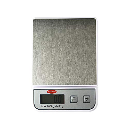 Bakerdream Digital Kitchen Scale, 2kg/0.1g Pro Cooking Scale