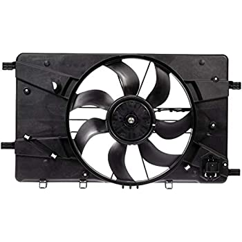 Cooling Fan Motor Assembly Replacement for Chevrolet Cruze Cruze Limited Buick Verano 13427161 674-01012