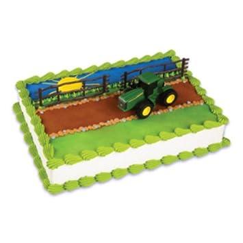 John Deere Farm Tractor Cake Topper Amazoncom Grocery Gourmet