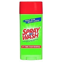 SPRAY \'n WASH 81996CT Pre-Treat Stain Stick, White, 3 oz, (Case of 6)
