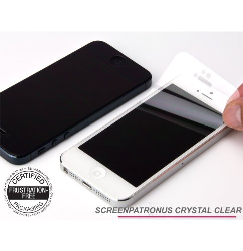 ScreenPatronus - SonyEricsson W580 Crystal Clear Cell Phone Screen Protector (LIFETIME REPLACEMENT WARRANTY)
