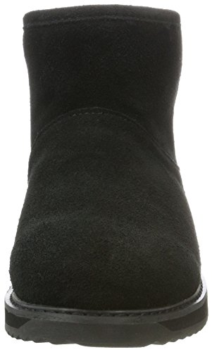 EMU Paterson Classic Mini Black, Botas de Nieve Para Mujer Negro (Black)