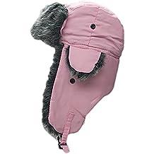 Faux Fur Trooper Trapper Aviator Ski Hat