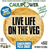 Caulipower Cauliflower Pizza (Plain Crust 12 oz, Pack of 8)