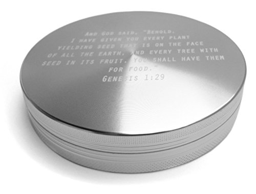The Original Fatboy Herb Grinder 2.0 - The Original Gigantic 4 Inch Grinder. Made In USA