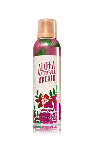 Bath & Body Works Foaming Shower Gel Aloha Waterfall Orchid - Orchid Coconut Body Wash