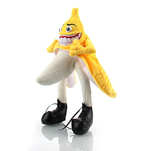 Funny Banana Man Stuffed Animal - Soft Plush Toys for All Ages - Great for Nursery, Room Decor, Bed - Measures 16 inch (Stuffed Banana Animal)