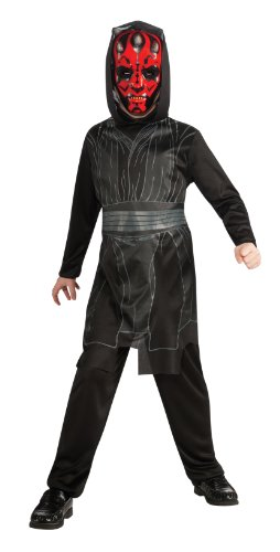 [Star Wars, Darth Maul Complete Costume Dress Up Set] (Child Darth Maul Costumes)