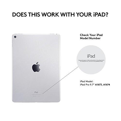Logitech Create iPad Pro 9.7 Backlit Keyboard Case – Smart Connector – iOS Shortcuts – Black by Logitech (Image #5)
