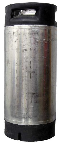 Draft Brewer Reconditioned 5 Gallon Stainless Steel Pin Lock HomeBrewing Keg For Home Brew Beer, Cider Or (5 Gallon Soda Keg)