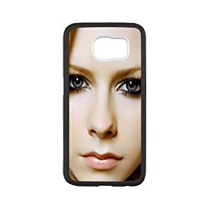 Canadian pop singer Avril Lavigne Hard Plastic phone Case Cover+Gift keys stand For Samsung Galaxy S6 ZDI069671