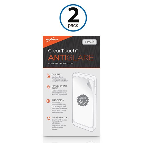 Garmin D2 Bravo Screen Protector, BoxWave® [ClearTouch Anti-Glare (2-Pack)] Anti-Fingerprint Matte Film Skin for Garmin D2 Bravo Photo #3