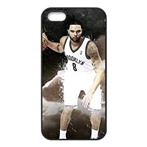 iPhone 5/5s TPU Case with Brooklyn Nets Deron Williams Image Background Design-by Allthingsbasketball
