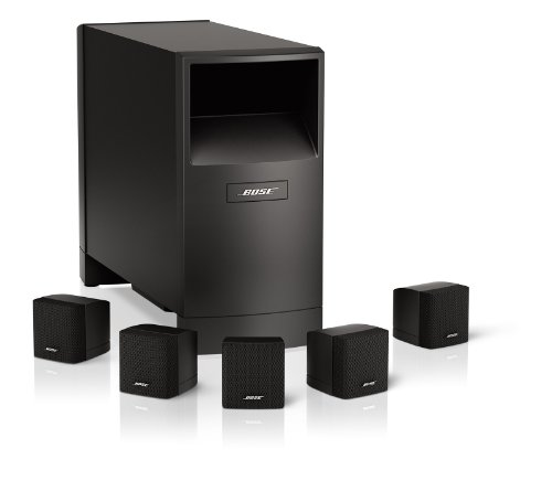 bose acoustimass 6 home entertainment speaker system. Black Bedroom Furniture Sets. Home Design Ideas