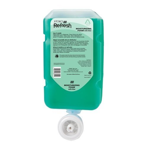 34979 Stoko REFRESH 4 in 1 Foaming 1000ml Moisturizing Handwash 4 by Refresh 4 in 1 Foaming Soap