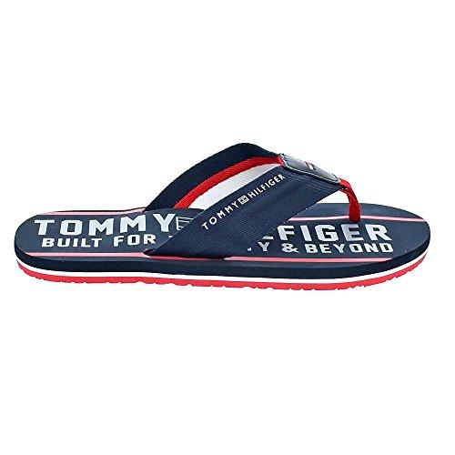Tommy Hilfiger Mens Sandal 013714 Midnight Midnight