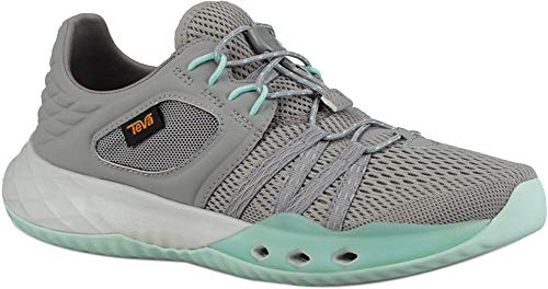 Teva Womens Terra-Float Churn Sneaker, Wild Dove, Size 7.5