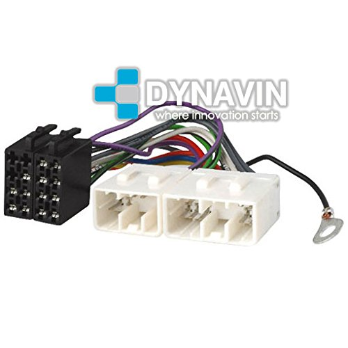 ISO-MAZ.1990 - Conector iso universal para instalar radios en Mazda. Dynavin