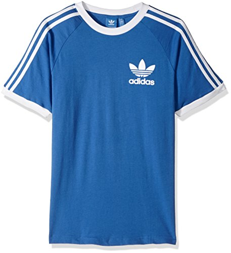 adidas Originals Men's Tops California Tee, Blue, Medium
