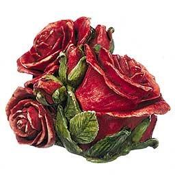 Double Red Rose..... Harmony Kingdom HGLEDRR