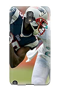 Galaxy Note 3 Hard Back With Bumper Silicone Gel Tpu Case Cover Miami Dolphins