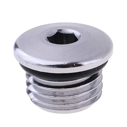 DYNWAVE Scuba Diving Regulator High Pressure Port Plug Low Pressure Adjustment Plugs Screw 3/8 inch 7/16 inch - 7-16